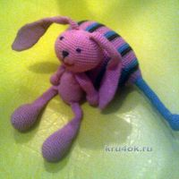 Вязаная игрушка — работа Елены