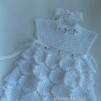 Платье для девочки – работа Марины Стоякиной