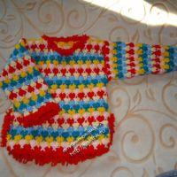 Джемпер для девочки — работа Татьяны