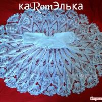 Детское платье крючком — работа кaRomЭлькa