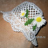 Шляпка для девочки — работа Маргариты