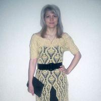 Вязаное крючком платье — работа NatalyaG.
