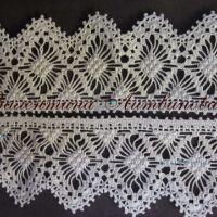 Вязание крючком кружева — работа Валентины Литвиновой