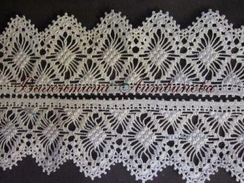 Вязание крючком кружева – работа Валентины Литвиновой. Вязание крючком.