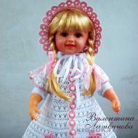 Платье, панама и капор для девочки — работы Валентины Литвиновой