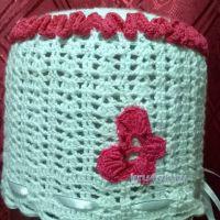 Вязаные крючком шапочки — работы Анжелики Романюк