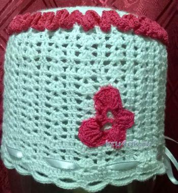 Вязаные крючком шапочки — работы Анжелики Романюк. Вязание крючком.
