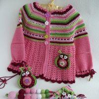 Комплект для девочки — работа Марины Стоякиной