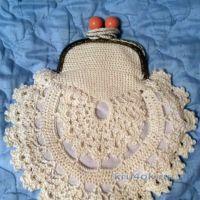 Вязаная крючком сумочка — работа Юлии Галецкой