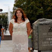 Вязаная крючком юбка — работа Ирины