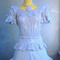 Детское платье Праздничное — работа Валентины Литвиновой