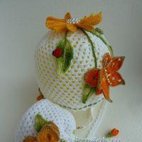 Сумочка и шапочка для девочки — работы Марины Стоякиной
