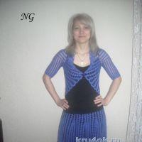 Женский костюм крючком — работа Натальи Гуляк