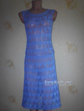 Вот и готово еще одно платье.