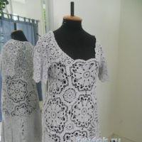 Ажурное платье — работа Аллы