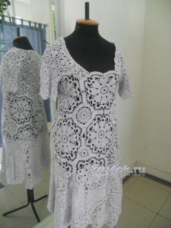 Ажурное платье - работа Аллы