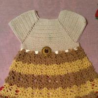 Платье для девочки — работа Юлии Галецкой
