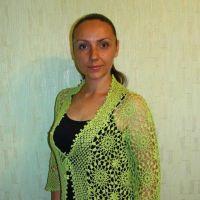 Ажурный жакет Лето, работа Евгении Руденко