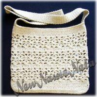 Вязаная сумочка для девочки. Работа NewNameNata