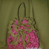 Красивая сумочка — мешочек Идея. Мастер — класс!