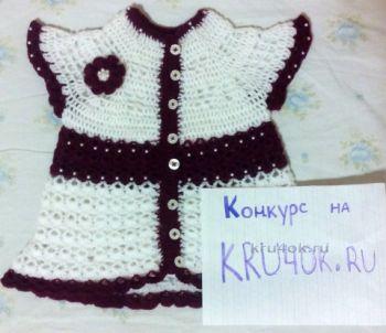 Кофта — платье Курочка. Работа Марии