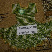Платье для девочки. Работа Галины Лукериной