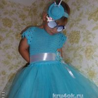 Платье для девочки. Работа Натальи