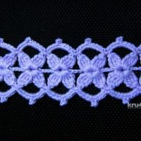 Мастер — класс по вязанию ленточного кружева от Валентины Литвиновой