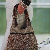 Вязаная сумка — волшебный турмалин