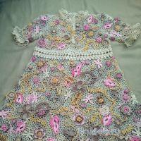 Платье для девочки. Работа Людмилы Максютовой