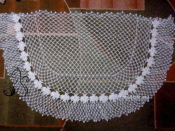 Мастер класс по вязанию ажурной шали Соломоновыми петлями. Вязание крючком.