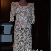Платье Карамельная роспись. Работа Елены Павленко