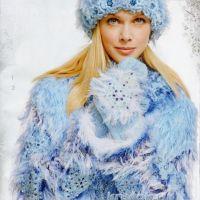 Шубка для Снежной королевы. Работа Марии Казановой