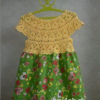 Платье для девочки. Работа Татьяны Бажановой