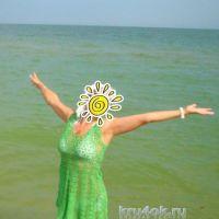 Пляжное платье. Работа Елены Шевчук