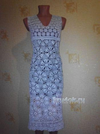 Женское платье - сарафан крючком