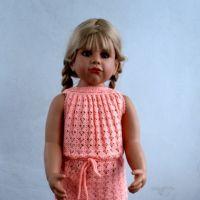 Платьице — трансформер для девочки. Работа Валентины Литвиновой