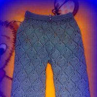 Ажурные брюки Шахарезады. Работа Марины Гололобовой