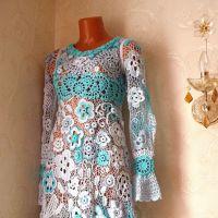 Платье Воздушное. Работа Олеси Петровой