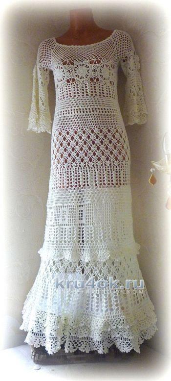 Платье Сати. Работа Олеси Петровой