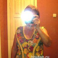 Летняя блузка Цветочное настроение. Работа Любови