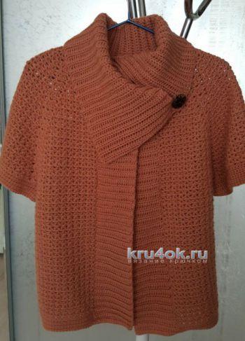 Вязание безрукавки и кофточки