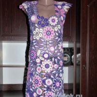 Платье Виолетт. Работа Елены Павленко