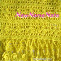 Ажурный шарф. Работа NewNameNata