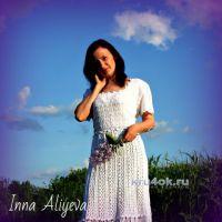 Вязаное платье Антония. Работа Inna Aliyeva