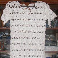 Платье для девочки Белые розы. Работа Елены