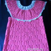 Платье для девочки. Работа Ирины