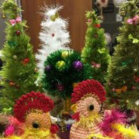 Петушок — новогодний символ. Работа Надежды Борисовой