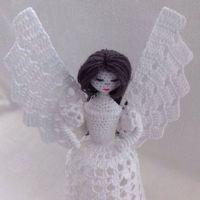 Ангел крючком. Мастер-класс от Ирины Шейко