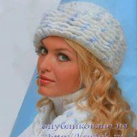 Вязание крючком шапки и шарфа